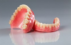 Set of full dentures in Skokie for upper and lower arch